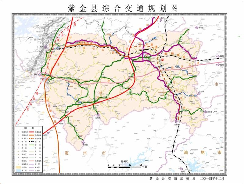 紫金g236国道线路图
