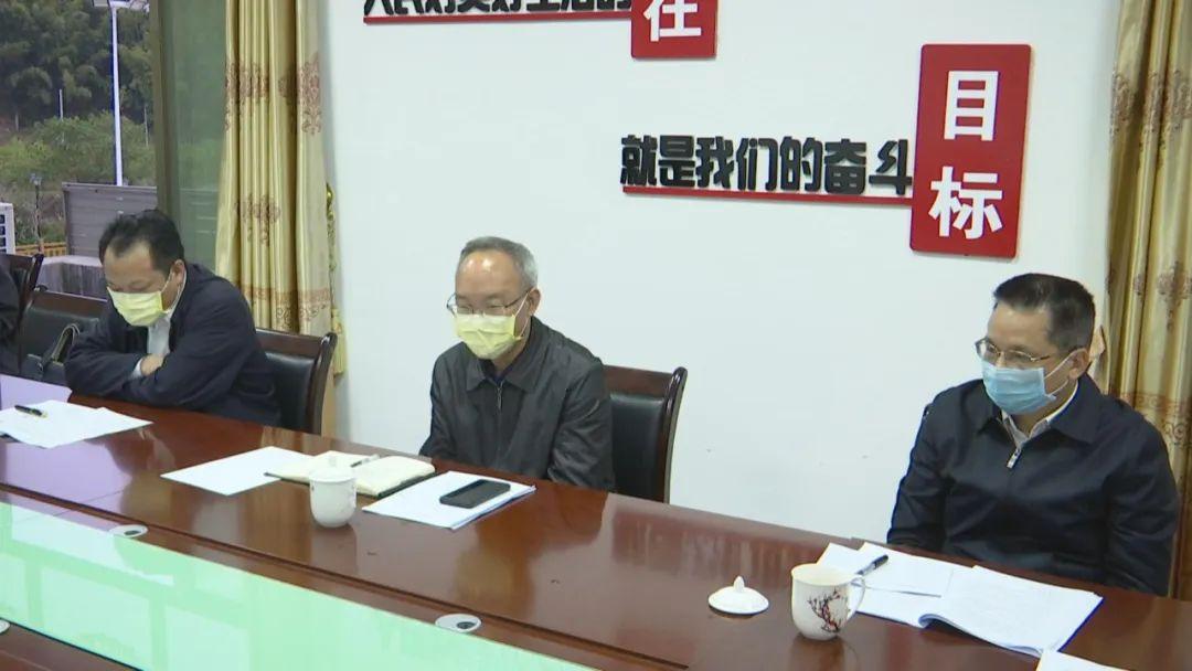 副市长赖小卫到紫金调研指导乡村振兴、精准扶贫等工作