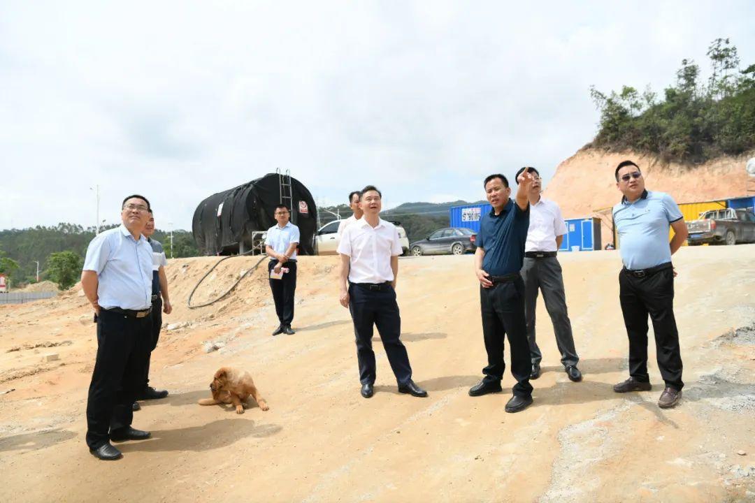 县委书记廖继聪率队检查安全生产工作